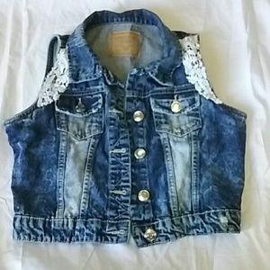Amethyst Jean vest